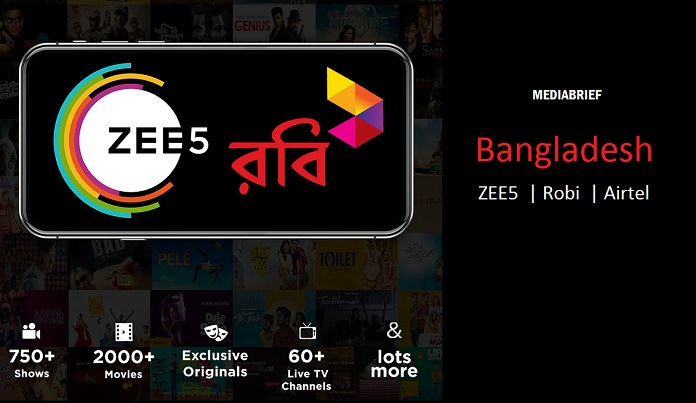ZEE5's Original Shows | Robi Axiata | MediaBrief