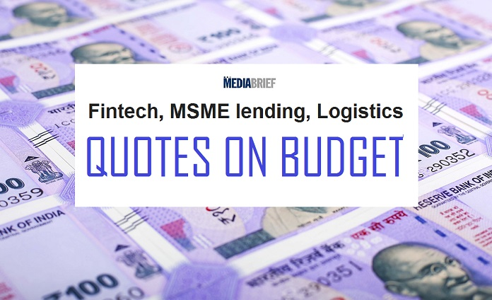 IMAGE-INPOST-FINTECH-LOGISTICS-MSME LENDING-QUOTES=-ON-BUDGET-MEDIABRIEF