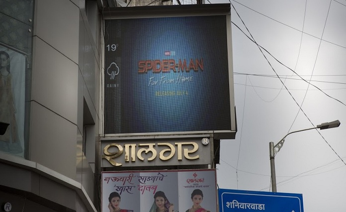 Image -India's first OOH Programmatic campaign is for SpiderMan-FFH-from Dentsu Webchutney and Sony Pictures Entertainment-mediabrief