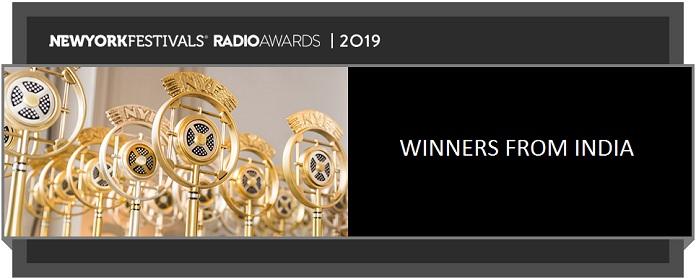 image-New York Festival Radio Awards-2019-winners from India-MediaBrief