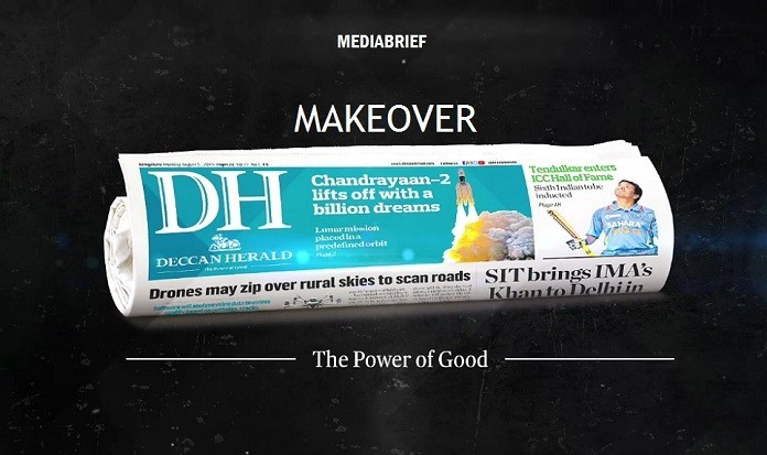 IMAGE-DECCAN HERALD GETS A MAKEOVER WITH BLUE-MEDIABRIEF