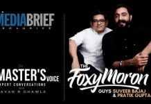 image-The-Masters-Voice-Podcast-MediaBrief-Suveer Bajaj and Pratik Gupta of Foxymoron-with Pavan R Chawla
