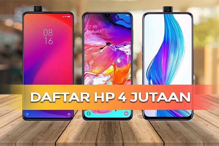 19 HP Harga 4 Jutaan Terbaik Januari 2021 (Video Review)