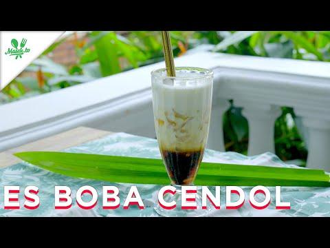 Minuman Kekinian Es Boba Cendol