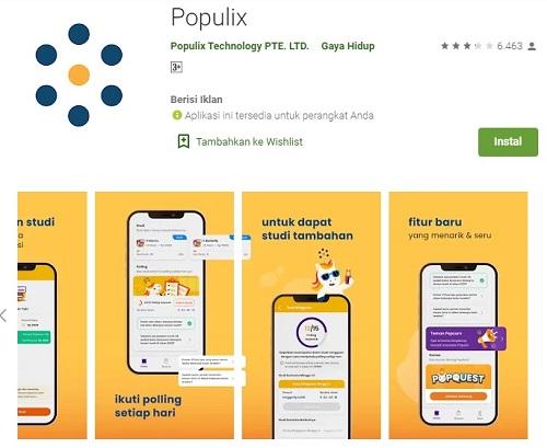Aplikasi Populix