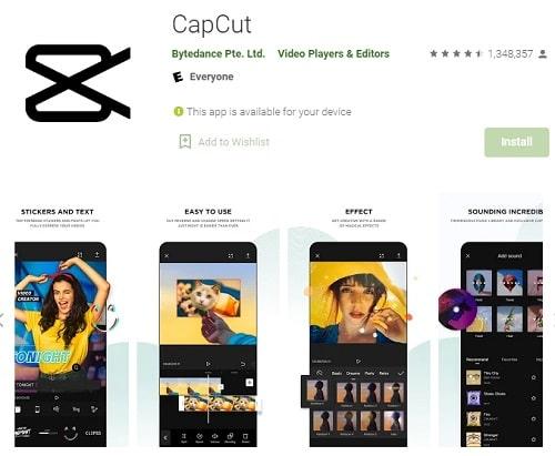 aplikasi CapCut aplikasi edit foto jadi anime