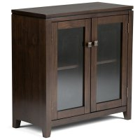 Low Storage Cabinet in Coffee Brown - AXCCOS-LO-CF
