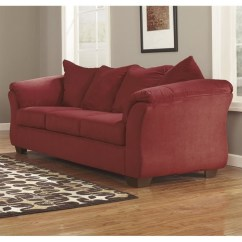 Ashley Furniture Darcy Sofa Reviews Manufacturers Los Angeles Ca Fabric Full Size Sleeper In Salsa - 7500136