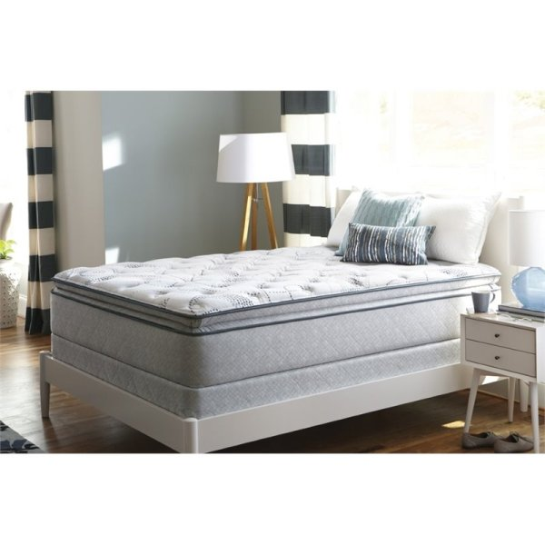 Sealy Plush Euro Pillow Top Mattress