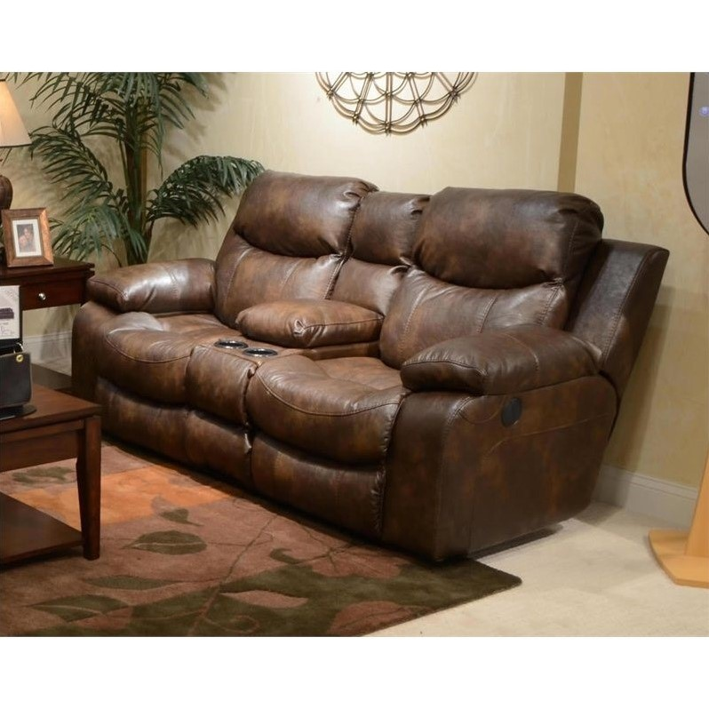 catnapper reclining sofas reviews sofa voyager catalina leather power console ...