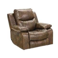 Catnapper Reclining Sofas Reviews 72 Inch Queen Sleeper Sofa Catalina Leather Power Glider Recliner In Timber ...