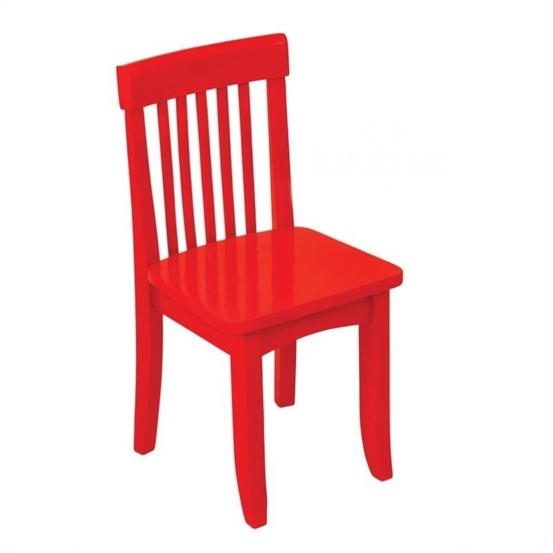 KidKraft Avalon Seating Chair in Red  16602