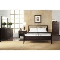 Modus Furniture Nevis Tropical Mahogany Platform Bed 3