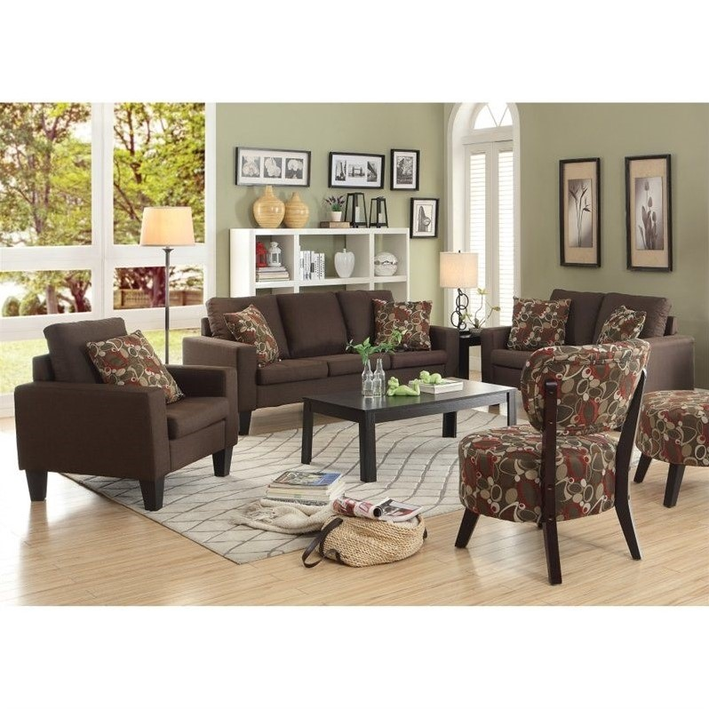 coaster bachman sofa reviews power motion sofas 3 piece fabric set in chocolate ...