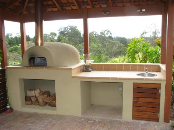 backyard kitchen designs hardware for cabinets outdoor design ideas get inspired by photos of le panyol australia