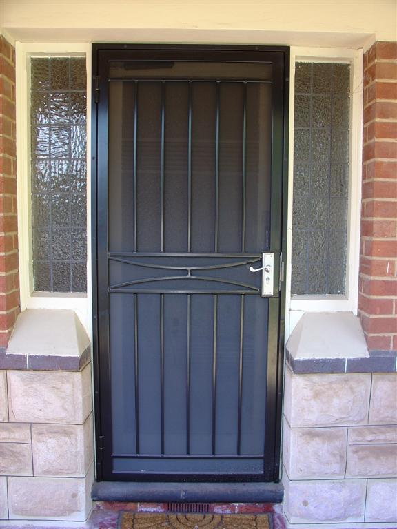 Hindmarsh Fencing  Wrought Iron Security Doors  Adelaide