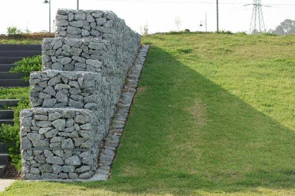 Building A Gabion Retaining Wall