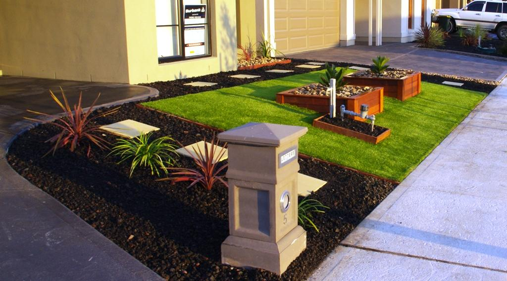 Front Landscaping Ideas Australia The Gardening