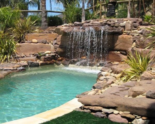 stunning backyard pool design