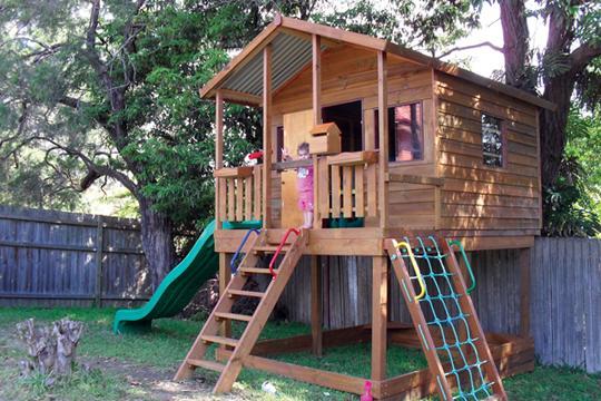 Kids Tree Houses Kids Cubby House Matt's Homes & Outdoor