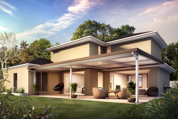 L Shaped House Plans