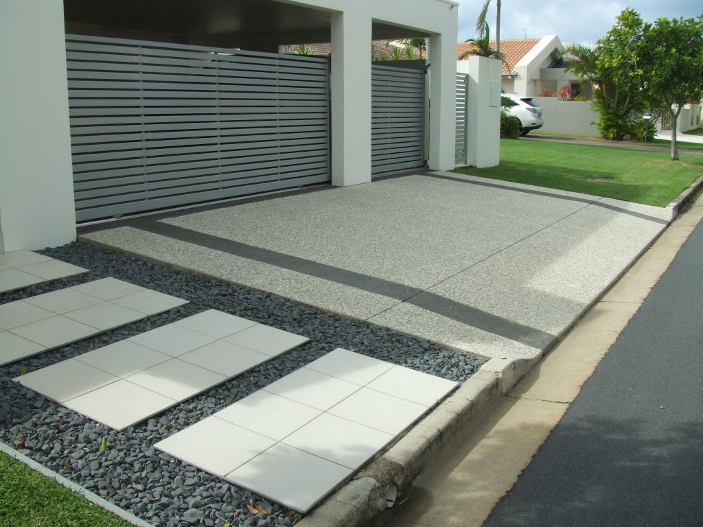 Driveways Inspiration  Caltabiano Concreting  Australia  hipagescomau