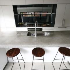 Kitchen Cabinet Resurfacing Columns Concrete Benchtops - Botany Matthew Concreative ...