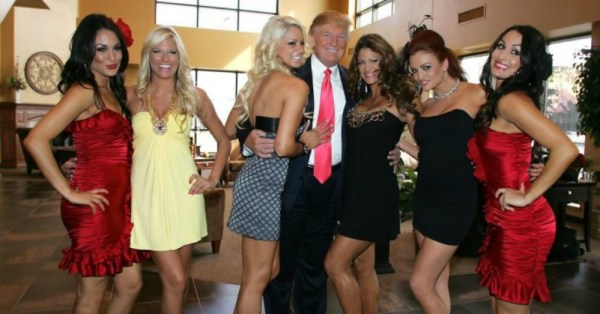 Image result for Donald Trump with women