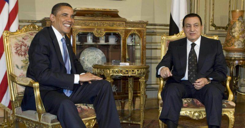 President Obama and Mubarak