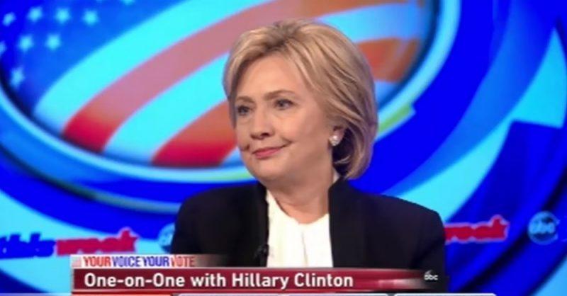 Hillary Clinton on Benghazi