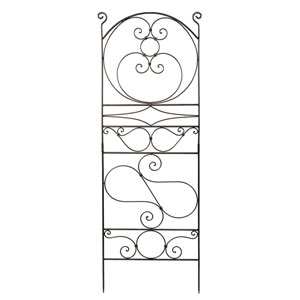 Achla Designs Ferro Firenze Wrought Iron Trellis I Ft 27