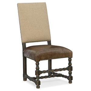 country french chairs upholstered salon for cheap shop bellacor hill brown and beige comfort side chair