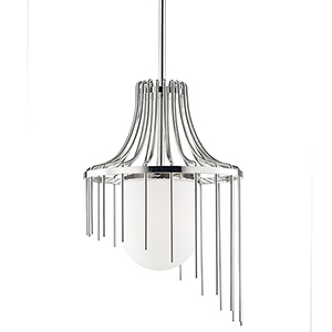 Mitzi By Hudson Valley Lighting Kylie Polished Nickel 1