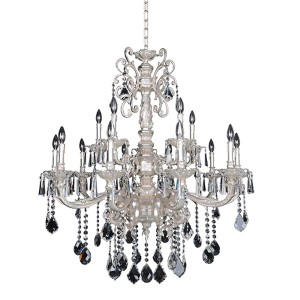 Elegant Lighting Maria Theresa Chrome Forty Nine Light 60