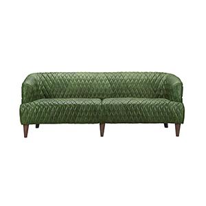 sage leather sofa sales sofas shop green bellacor magdelan tufted emerald