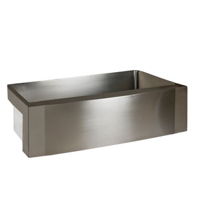 42 inch kitchen sink mobile home remodel shop stainless bellacor bremen steel 33 single bowl farmer