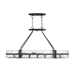 Justice Design Group Wire Glass Dakota 8 Up And Three