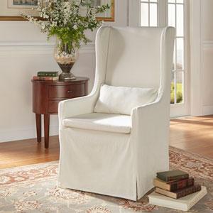 dining chair slipcover fuzzy saucer target shop print slipcovers bellacor lisle white wingback host
