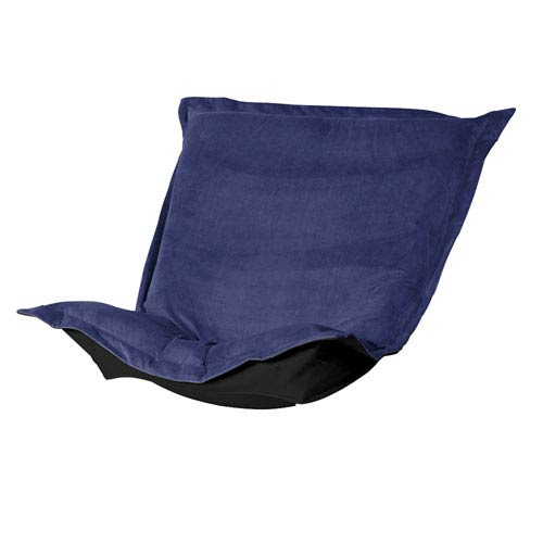 royal blue chairs lazy boy swivel chair cushions accent free shipping bellacor bella puff cover