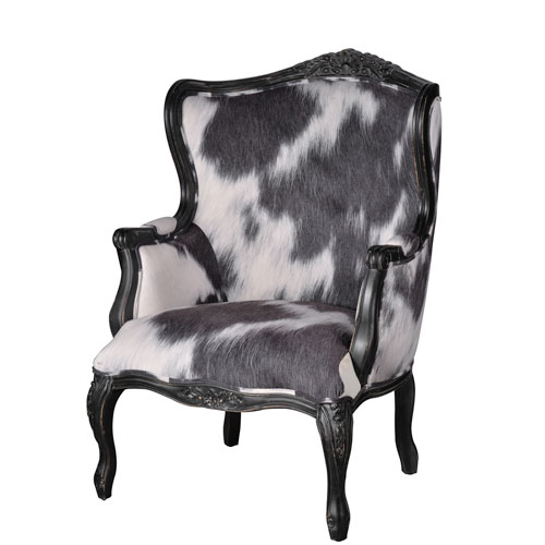 black and white accent chairs with arms behind the chair one shot contemporary free shipping bellacor cow print oversided arm