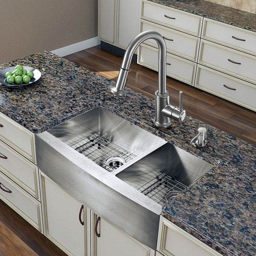 36 kitchen sink wholesale appliances vigo all in one inch bingham stainless steel double bowl 1927vg15270 1 2 3 4