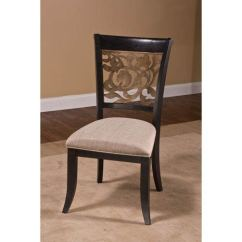 Dining Chairs High Desk Hillsdale Furniture Bennington Black Chair Set Of 2 5559 802