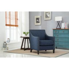 Navy Blue Accent Chairs Swivel Office Chair Plans Comfort Pointe Taslo 8018 10 Bellacor