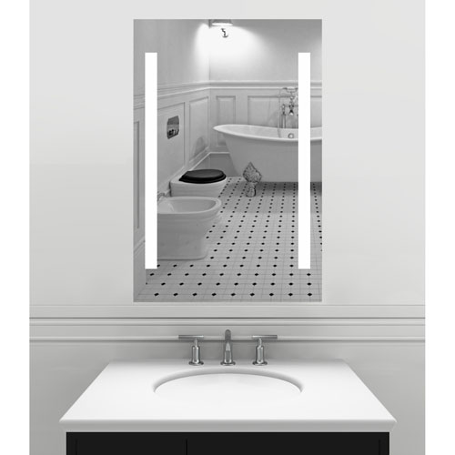 Alex  Inch Led Lighted Wall Mirror By Civis Usa