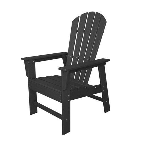 adirondack style dining chairs kings throne chair polywood south beach slate grey sbd16gy