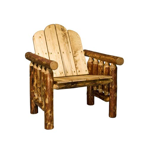 rustic outdoor chairs adirondack plastic lodge and patio furniture free shipping bellacor glacier country exterior stain deck chair finish
