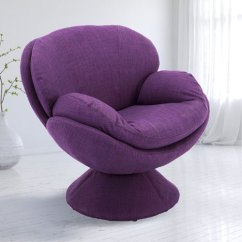 Purple Accent Chair Mid Century Wire Mac Motion Chairs Pub Leisure 170 Uph Bellacor