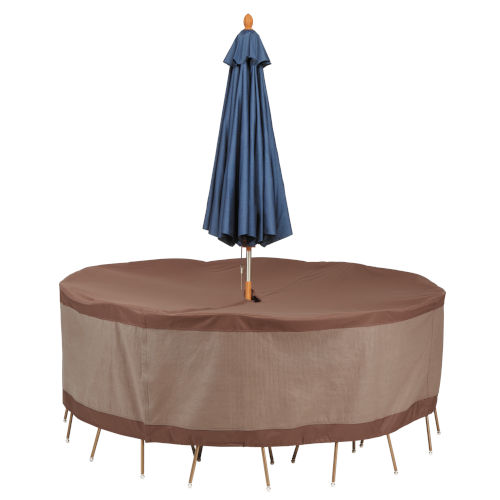 https www bellacor com productdetail duck covers utru9629 ultimate mocha cappuccino 94 inch round patio table and chair set cover 2324212 htm