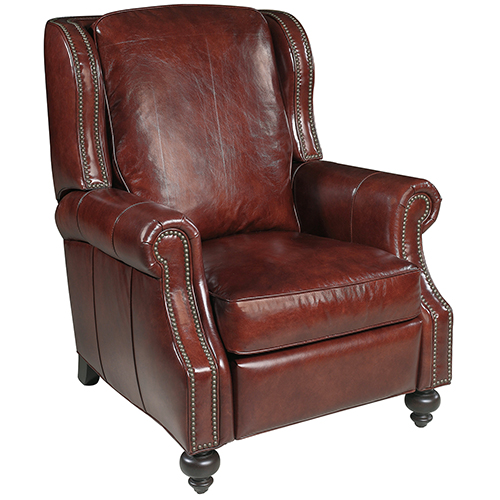 leather recliner chairs buy ski lift chair recliners bellacor drake red