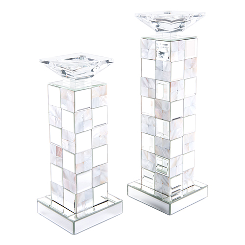 Zuo Modern Contemporary Squares Candle Holder Large Mirror